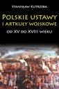 Polskie ustawy i artykuły wojskowe - okładka książki