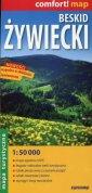 Beskid Żywiecki mapa turystyczna - okładka książki