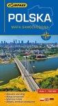 Polska mapa samochodowa, 1: 700 - okładka książki