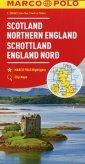 Szkocja Anglia Północna mapa samochodowa - okładka książki