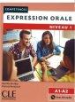Expression orale 1 + CD A1+A2 - okładka książki