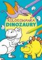 Kolorowanka. Dinozaury - okładka książki