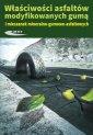 Właściwosci asfaltów modyfikowanych - okładka książki