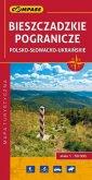 Bieszczadzkie pogranicze polsko-słowacko-ukraińskie - okładka książki