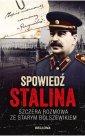 Spowiedź Stalina.  Szczera rozmowa - okładka książki