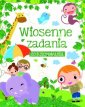 Wiosenne zadania do kolorowania - okładka książki