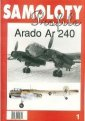 Arado Ar 240. Samoloty Profile - okładka książki