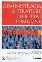 Administracja a strategie i polityki - okładka książki