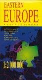 Europa Wschodnia mapa samochodowa - okładka książki