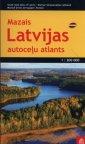 Łotwa atlas samochodowy 1:200 000 - okładka książki