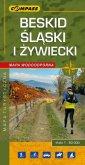 Beskid Śląski i Żywiecki - mapa - okładka książki