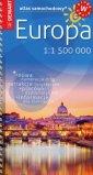 Europa Atlas samochodowy 1:1 500 - okładka książki