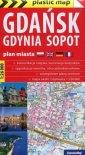 Gdańsk Gdynia Sopot 1:26 000 plan - okładka książki