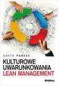 Kulturowe uwarunkowania Lean Management - okładka książki