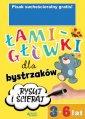 Łamigłówki dla bystrzaków 3-6 lat - okładka książki
