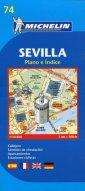 Sewilla mapa 1:10 000 - okładka książki
