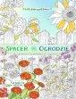 Spacer po ogrodzie - kolorowanka - okładka książki