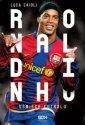 Ronaldinho. Uśmiech futbolu - okładka książki