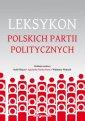 Leksykon polskich partii politycznych - okładka książki