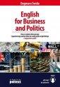 English for Business and Politics. - okładka podręcznika