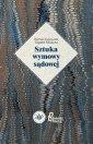 Sztuka wymowy sądowej - okładka książki