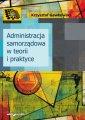 Administracja samorządowa w teorii - okładka książki