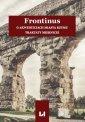 Frontinus. O akweduktach miasta - okładka książki