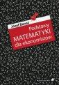 Podstawy matematyki dla ekonomistów - okładka książki