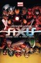 Avengers i X-Men Axis - okładka książki