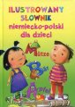 Ilustrowany słownik niemiecko-polski - okładka książki