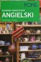 PONS. Słownik tematyczny angielski - okładka książki