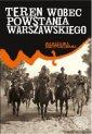 Teren wobec powstania warszawskiego - okładka książki