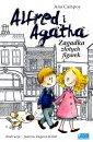 Alfred i Agatha. Zagadka złotych - okładka książki