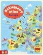 Naklejkowy atlas Europy - okładka książki