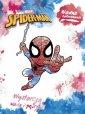 Spider-Man. Wodne kolorowanie - okładka książki