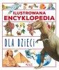 Ilustrowana encyklopedia dla dzieci - okładka książki