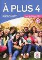 A Plus 4 Livre de leleve (+ CD) - okładka podręcznika