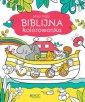 Moja mała biblijna kolorowanka - okładka książki