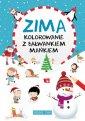 Zima kolorowanie z bałwankiem Mańkiem - okładka książki